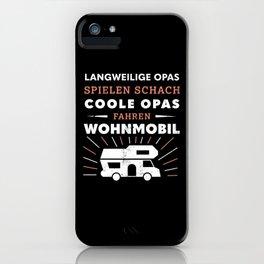 Coole Opas fahren Wohnmobil (Geschenk) iPhone Case