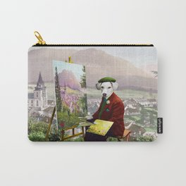 Sir Langford Labrador While Plein Air Painting Carry-All Pouch
