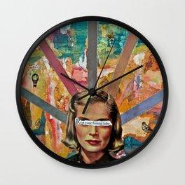 Sentience Wall Clock
