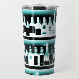 Wine Bottles - version 2 #decor #buyart #society6 Travel Mug