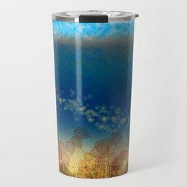 Abstract Seascape 01 w Travel Mug
