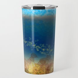 Abstract Seascape 01 w Travel Mug
