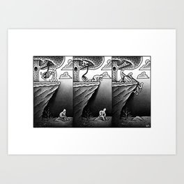 Tire Swing Art Print