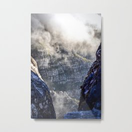 Table Mountain, South Africa Landscape Metal Print