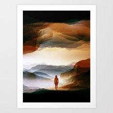 Quiet Heat Art Print