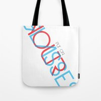 3d Tote Bags featuring 3D. by Grant Pearce