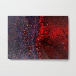 """""""Universal Bleeds"""" Metal Print"""