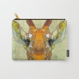 abstract giraffe calf Carry-All Pouch