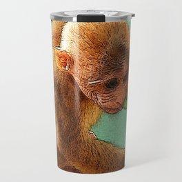 CArt Baby Monkey Travel Mug