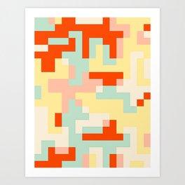 pixel 002 01 Art Print