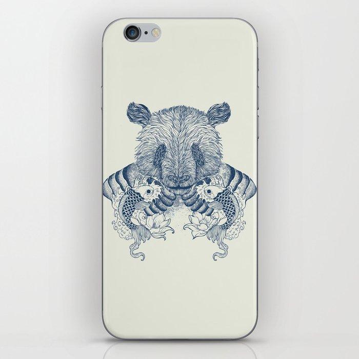 Panda Tattoo iPhone Skin