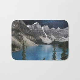 Midnight Moraine Bath Mat