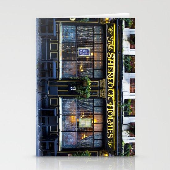 The Sherlock Holmes Pub London Stationery Cards