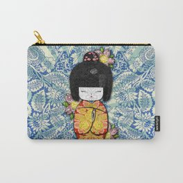 Horror Vacui - Kokeshi01 Carry-All Pouch