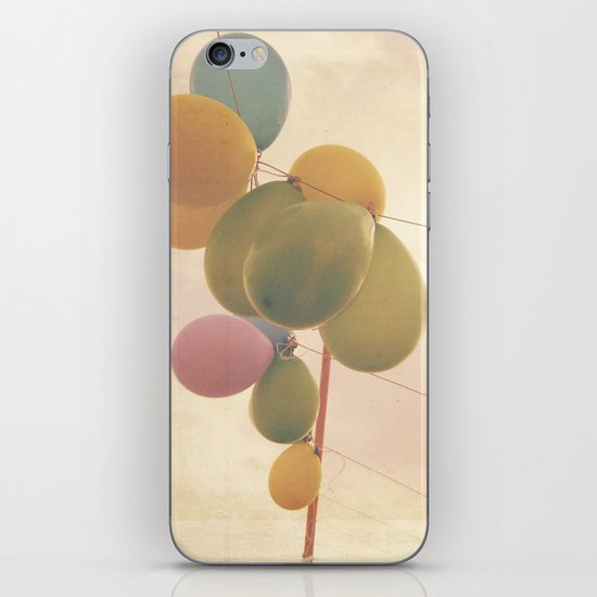 The Vintage Balloons iPhone & iPod Skin
