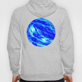 Vector glowing water background made of blue sea lines. Hoody