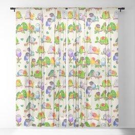 Lovebird Sheer Curtain