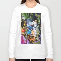 vegetable Long Sleeve T-shirts featuring Vegetable Gremlin by John Turck