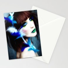 Feathered Beauty Stationery Cards
