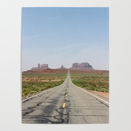 Monument Valley Veritcal Poster