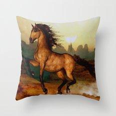 Prairie dancer Throw Pillow