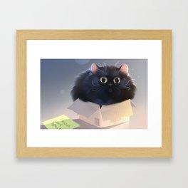 If it fits... Framed Art Print