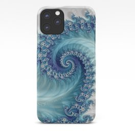 Sound of Seashell - Fractal Art iPhone Case