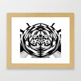 Unwind Spiral Framed Art Print