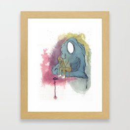 Turmoil Framed Art Print