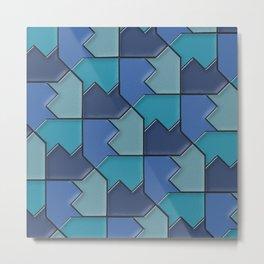 Geometrix 118 Metal Print