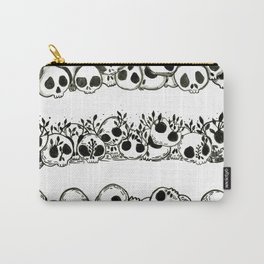 several piles of skulls Carry-All Pouch