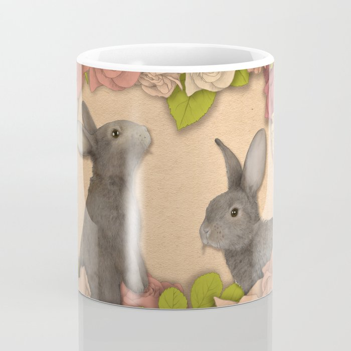 Rosie Rabbits Coffee Mug