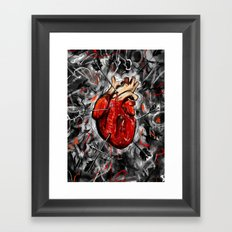 Heart & Arrows Framed Art Print