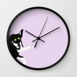 Carly Feelin Cute Wall Clock