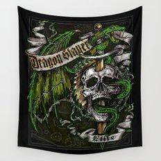 Dragon Slayer Elite Wall Tapestry