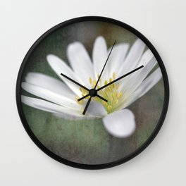 ...all nature is your congratulation... Wall Clock