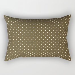 Dotted Cocoa Rectangular Pillow
