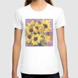 Golden Sunflower Bouquet T-shirt