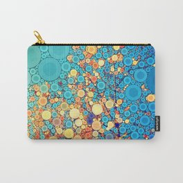 Sky and Leaves Carry-All Pouch