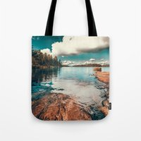 belle Tote Bags featuring Belle Svezia by HappyMelvin