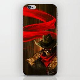 Skull Cowboy iPhone Skin