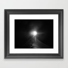 Accident photographique Framed Art Print