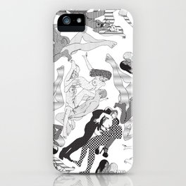 Wild Lines iPhone Case