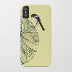Magpie iPhone X Slim Case