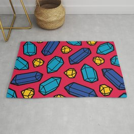 Bright Gems Pattern Rug