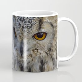 Eurasian eagle-owl, wild bird Coffee Mug