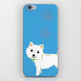 Coco Scottish terrier iPhone Skin