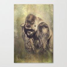 Gorilla in the Mist Canvas Print