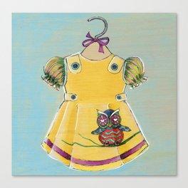 Avery Dress 02 Canvas Print