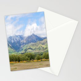Highway 94 Landscape, New Zealand Stationery Cards